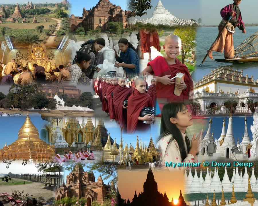 แกรนด์พม่า ย่างกุ้ง หงสา พระธาตุอินแขวน สิเรียม พุกาม มัณฑะเลย์ อินเล 6 วัน 5 คืน